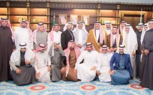أمير الباحة يستقبل إعلاميي المنطقة ويؤكد أن الإعلام شريك أساسي في كل نجاح