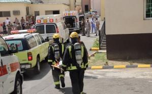 مصرع شخصين وإخلاء 114 آخرين في فرضية حريق نفذها مدني الطائف في السجن العام