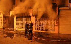 وفاة «11» مقيم وإصابة 6 آخرين بحريق منزل شعبي في نجران