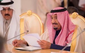 صورة.. خادم الحرمين يتناول الغداء مع شقيقه الأمير أحمد