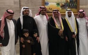 سعيد العيشان يحتفل بزفاف نجله