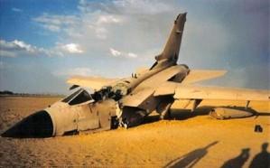 سقوط طائرة أردنية في نجران ونجاة قائدها