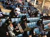 بالصور.. عائلات في استاد الملك فهد لحضور الكلاسيكو
