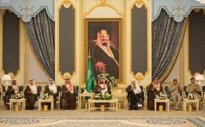 نائب خادم الحرمين الشريفين يلتقي أعضاء مجلس النواب اليمني المؤيدين للحكومة اليمنية