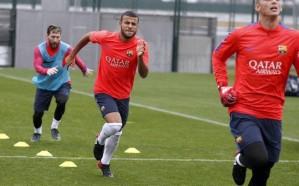 برشلونة ينتظر عودة ميسي وسواريز أمام سيلتك