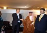 وزير الخارجية يبحث مع نظيره الدنماركي القضايا الإقليمية والدولية