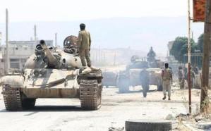 معارك عنيفة بين قوات النظام السوري وداعش بالبادية الشرقية لحمص