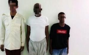 """بالصور.. """"شرطة الرياض"""" تكشف تفاصيل القبض على المتهمين في محاولة خطف طفل"""