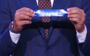 المنتخب السعودي في افتتاح كاس العالم 2018