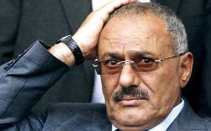 آخر صورة لعلي عبدالله صالح قبل مقتله على يد الحوثي