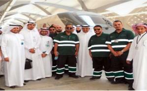 قطار الحرمين السريع يصل مكة لأول مرة في رحلة تجريبية