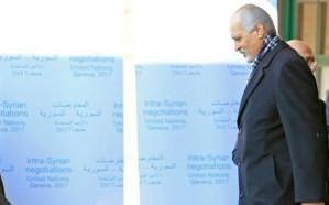 الأمم المتحدة تعلن توجه وفد نظام الأسد إلى جنيف غداًَ للمشاركة في المفاوضات
