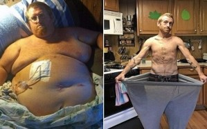 شاب يتحول إلى رشيق ويخسر 170 كيلو غرامًا