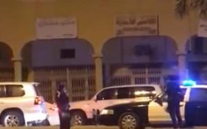"""فيديو مثير لفتاة تحمل """"ساطور"""" وسط شارع عام في بريدة"""