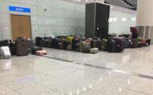 """مطار الرياض يوضح أسباب تكدس الحقائب بالصالة الخامسة """"المفتتحة حديثا"""""""