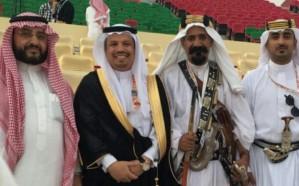 محافظ ميسان يدعم أشبال بني يوسف على خشبة مسرح عكاظ