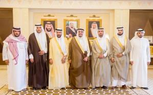 أمير القصيم يستقبل المنظمين والمشاركين بمهرجان البصر