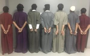 مرتكبي جرائم سرقة المركبات والمحلات التجارية في قبضة شرطة الرياض