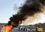 مصرع عروس وشقيقيها في حادث مروع بالمدينة المنورة