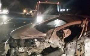 """وفاة شخص وإصابة اثنين بحادث مروري بـ""""حداد بني مالك"""""""