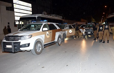 شرطة الرياض تنفذ عملية تحرير محتجزين بنجاح دون وقوع أي إصابات