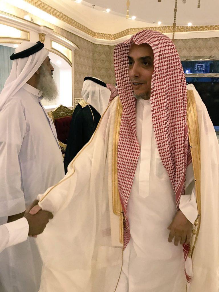 أمير المدينة المنورة يشرِّف حفل تكريم عبدالله الصاعدي