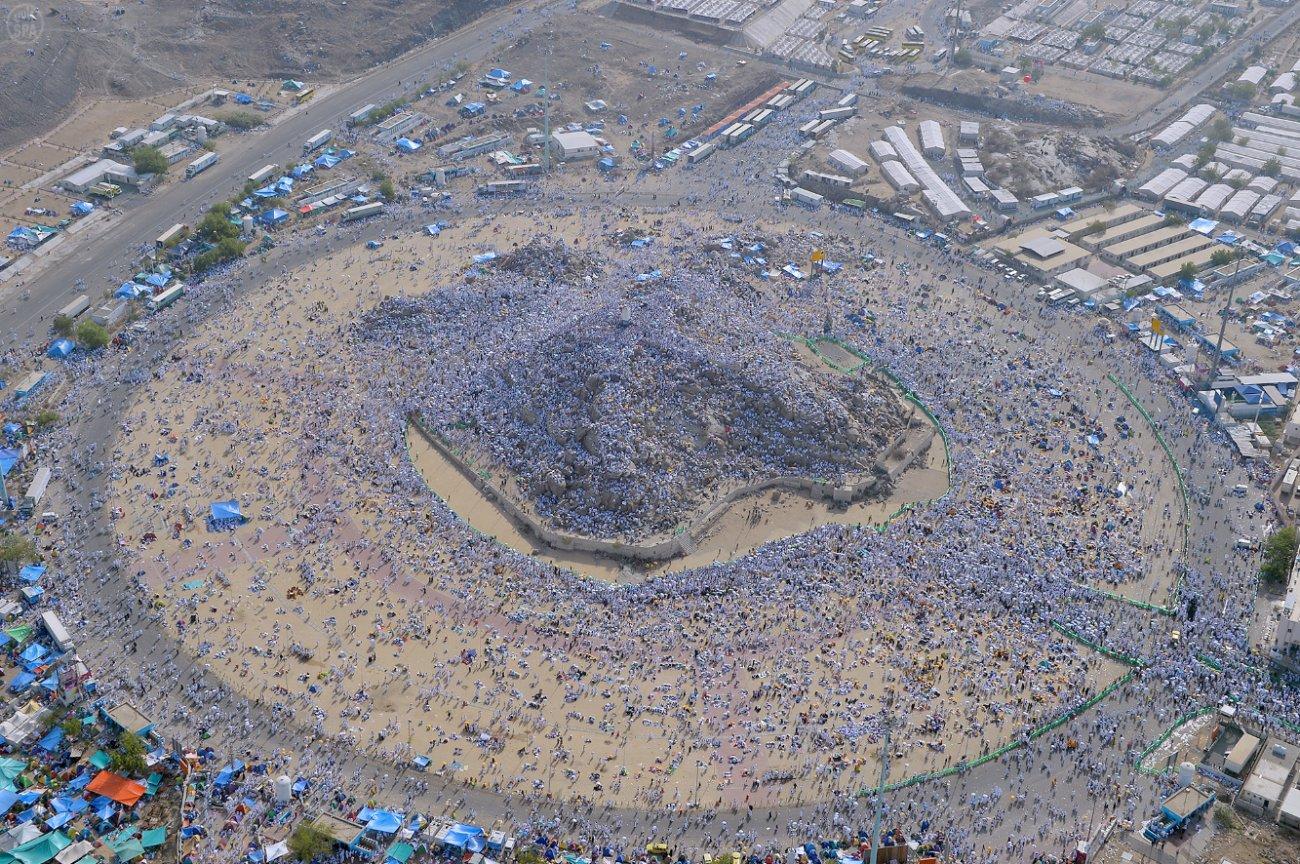 جبل الرحمة عرفات