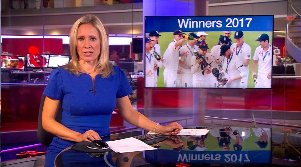 شاهد فضيحة BBC ..  تبثّ فيديو إباحي على الهواء مباشرة !!