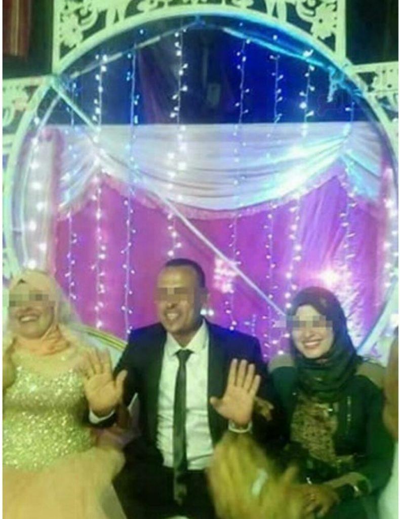 بالصور: زوجة مصرية تشارك في زفاف زوجها على عروس ثانية