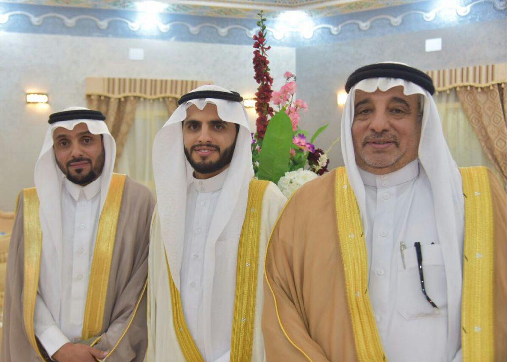 الشيخ سعيد العيشان يحتفل بعقد قران نجله الدكتور عبدالعزيز