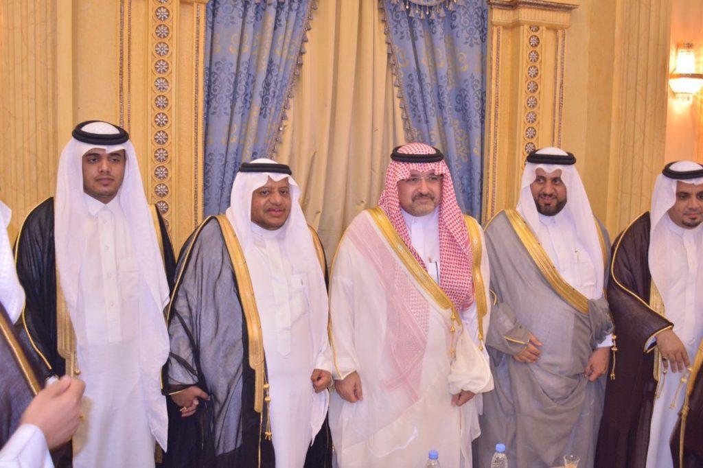 """الأمير مشعل بن ماجد يشرف حفل زواج """"ابن الثقفي"""" مدير التعليم بمكة"""