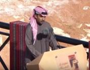 شاهد.. القطري محمد بن فطيس المري يلقى قصيدة أمام خادم الحرمين الشريفين