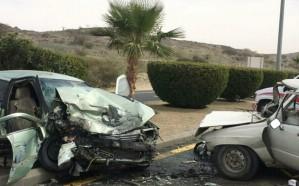 مصرع وإصابة 3 أشخاص جراء حادث مروع بالطائف