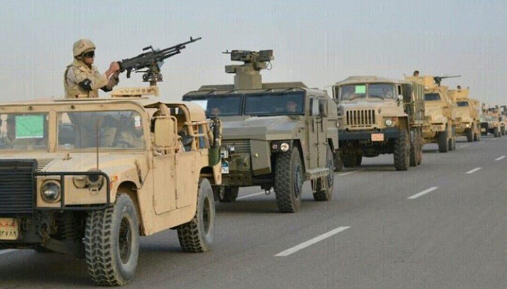 الجيش المصري يقتل 10 إرهابيين ويعتقل المئات في عملية سيناء